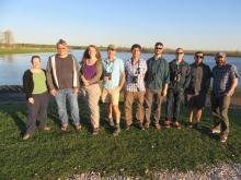 Phenological Mismatch Project - Partial Team Photo